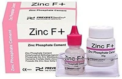 Dental Zinc Phosphate Permanent Cement Tooth Filling Fixation Powder Liquid Kit