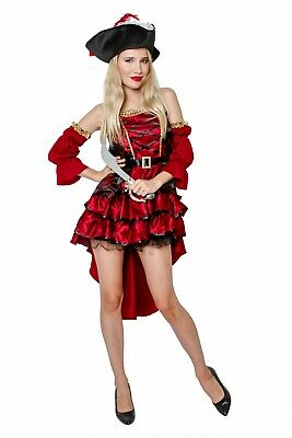 Pirate Maiden Costume Halloween Fancy Dress