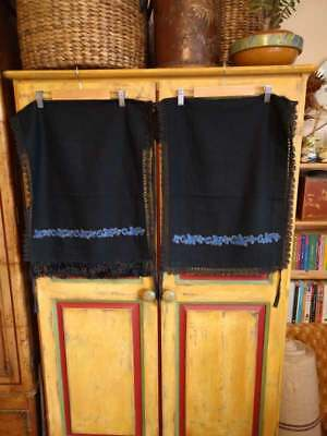 Vintage/antique Romanian folk costume aprons