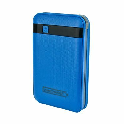 Portable Charger Usb, Instacharge 11000mah Phone Travel Portable Charger, Blue