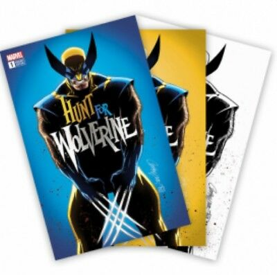 Hunt For Wolverine #1 Convention Exclusive Combo Cover by J Scott Campbell