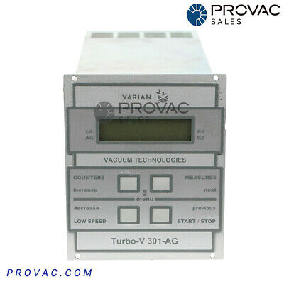 Varian TV-301 AG, Turbo Pump Controller, Rebuilt By Provac Sales, Inc.