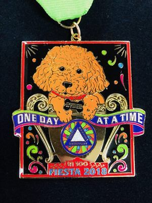 Fiesta Medal 2018 Ryder Recovery Medal - 2 for $10.00