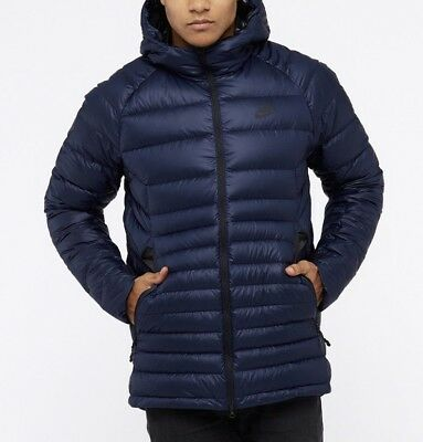 7c00da4a5826f NIKE MEN'S NSW DOWN FILL GUILD HOODED JACKET Obsidian 866027-451 b ...