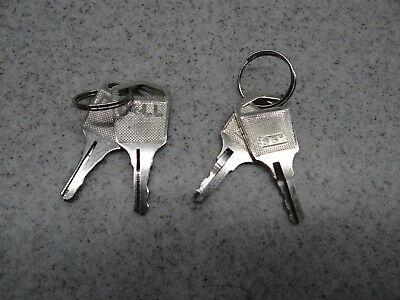 Dell Key 361 1K861 Faceplate Lock Lot of 2 set PC Server Key PowerEdge 1950 2950