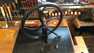 "Grouts excelsior,Jewelers lathe, watchmaker, treadle lathe 18"",excellent cond."