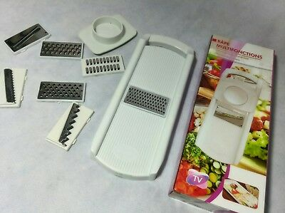 Super Slicer Plus Vegetable Fruit Peeler Dicer Cutter Chopper Nicer Grater 9 Pcs
