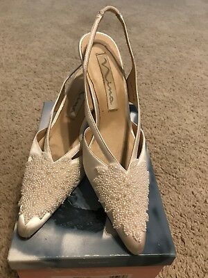 Bridal Formal Shoes Size 8