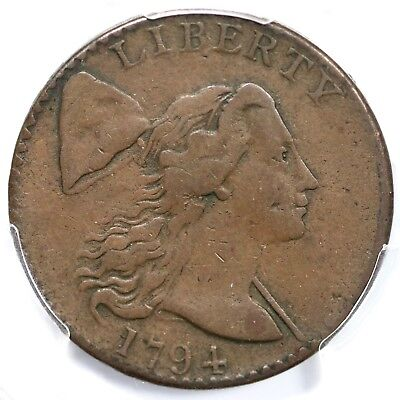 1794 S-41 R-3 PCGS VF 25 Liberty Cap Large Cent Coin 1c