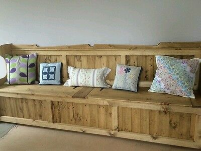 10ft long  Church Pew, Monks Bench  Settle Courier available