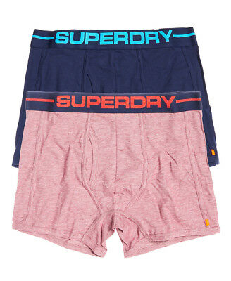 """Superdry Sport Boxer Double Pack (2 Pairs Boxers/ Boxer Shorts) Size 34"""", Large"""