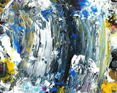 Big Wave Original Abstract Painting Abstract