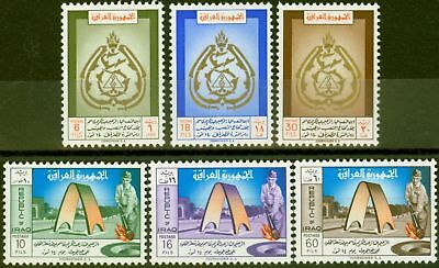 Iraq 1960 2nd Anniv of Revolution set of 6 SG540-545 Fine & Fresh Lightly Mtd