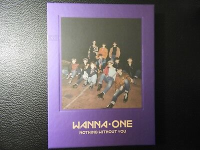 WANNA ONE NOTHING WITHOUT YOU - WANNA ver. 2nd Mini Album wannaone
