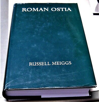 archeology book ROMAN OSTIA by Russell Meiggs, second edition