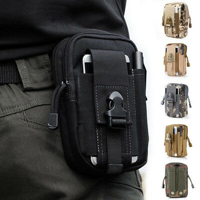 Outdoor Military Waist Bag Tactical Pouch Pocket Belt Hiking Camping Phone Pack