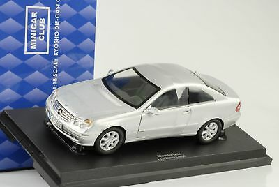 2009 mercedes-benz clk C209 coupe Silber 1:18 Kyosho diecast