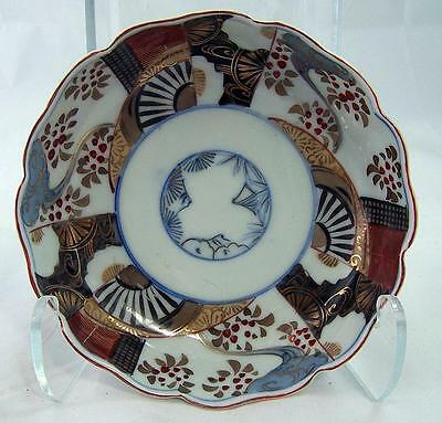 Antique Meiji Era Japanese Imari Arita Rice Bowl 1890