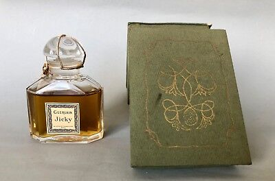 Antique Vintage Guerlain JICKY Unopened In Box Collectable