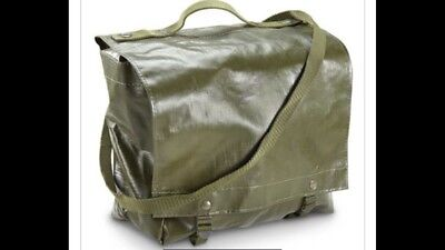 Czech Military Shoulder Bag, Gas Mask Bag, Utility Bag