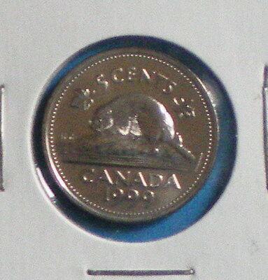 1999P Canadian 5 Cents (Finish : Ms-65 Nc)