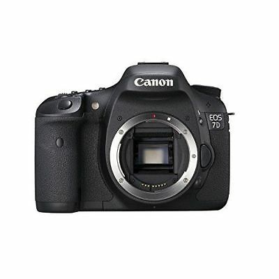 Canon EOS 7D 18.0MP Digital SLR Camera - Black (Body Only) 3814B004