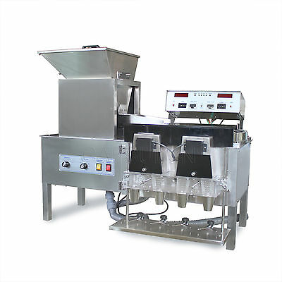 YL-4 Counter Semi-auto tablet and capsule counting machine 4 bottles/time 220V