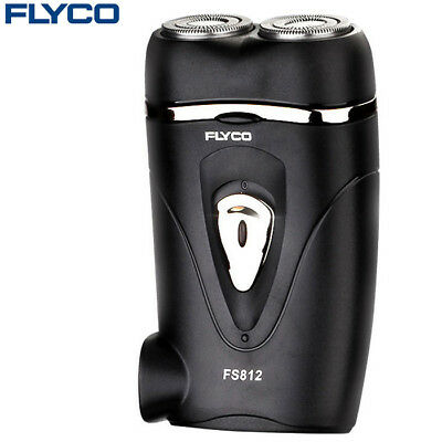 FLYCO FS812 220V Rotatable Double Head Small Electric Shaver Rechargeable Razor