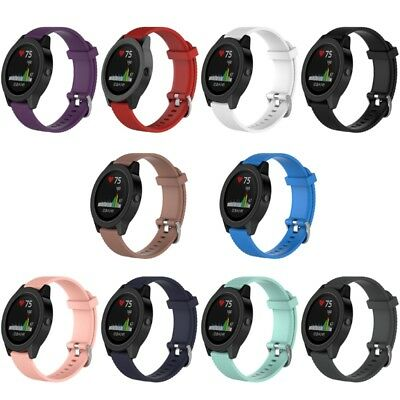 Silicone Watch Band Replacement Parts For Garmin Vivoactive 3 Vivomove HR New