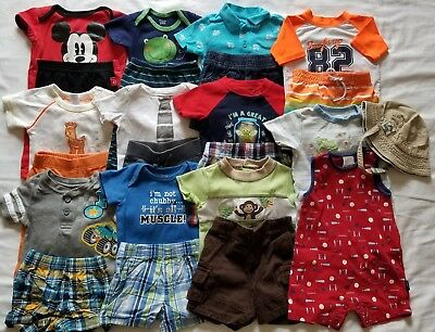 Baby Boys 3-6 6 months Spring Summer clothing outfits clothes lot