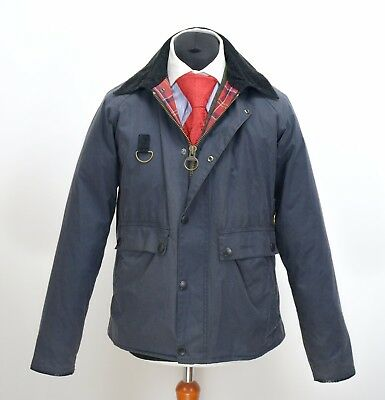 Mens Barbour Standen Wax Jacket Size L