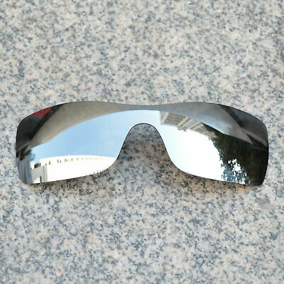 RAWD Silver Mirrored Replacement Lenses for-Oakley Batwolf POLARIZED