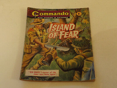 Commando War Comic Number 158!,1965 Issue,good For Age,53 Years Old,very Rare.