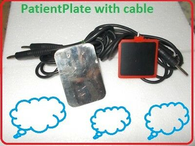 Electrosurgical Unit Skin Cautery Accessories Patient Plate & Cable Ghbf777