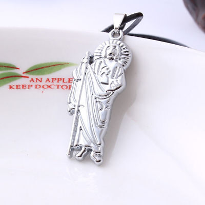 Silver Grim Reaper Necklace - Angel of Death Scythe Halloween Charm Jewelry New