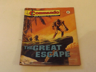 Commando War Comic Number 198!,1966 Issue,good For Age,52 Years Old,very Rare.