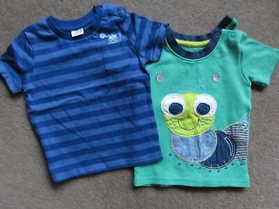 F & F And George, Baby Boy T-Shirts, Age 6-9 Months