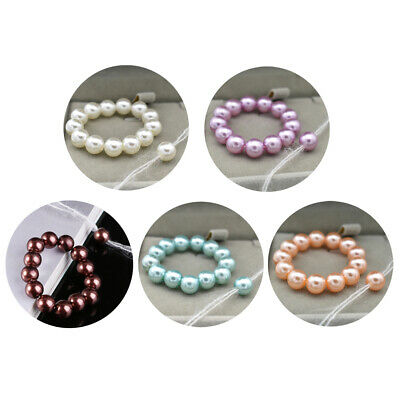 Props Photo Newborn Bracelet Headband Set Baby Glass Pearl Bracelet Shower Gift