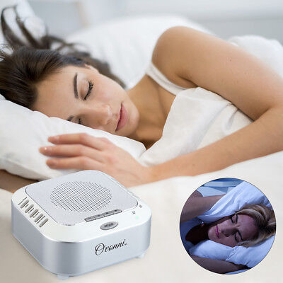 S3 Sleep Therapy Sound Machine Built-In 5 Natural Soothing Sounds for Good Sleep