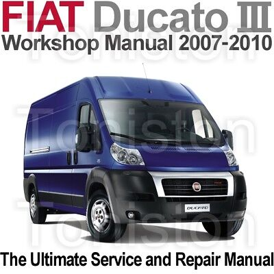 fiat ducato 2007 to 2010 type 250 workshop service and repair rh picclick co uk 2018 Fiat Ducato Fiat Ducato Van