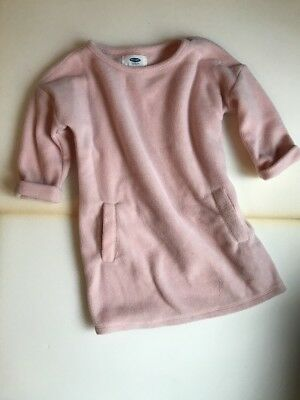 Old Navy Pink Fleece Dress Size 3T Girls (177) COMBINED SHIPPING