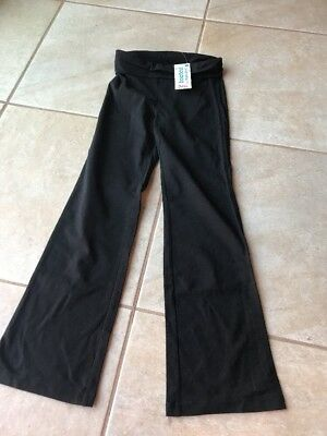 Girls Black Bootcut Justice Yoga Pants-8- NWT!  Awesome!