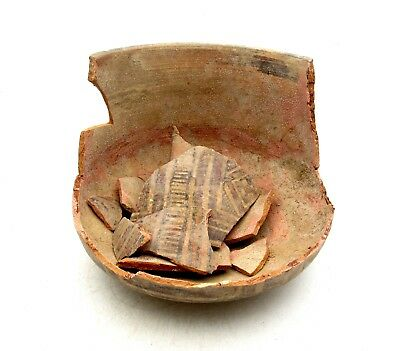 Indus Valley Terracotta Pottery For Restoration - Rare Artifact Superb - L110