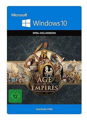 Age of Empires Definitive Edition - PC Windows 10 Store Key Download Code -
