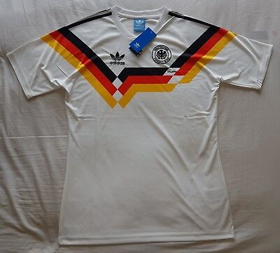 1990 West Germany Retro Football Soccer Shirt jersey World Cup Vintage Classic