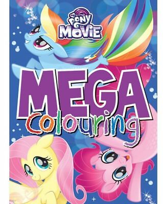 My Little Pony Huge Colouring Book With Story Inside Disney Mega movie scenes