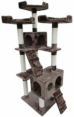 "Kitchener Cat Tree Condo 70"" - Littlewhiskers"