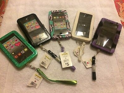 Lot Of 5 New Cell Phone Wristlets