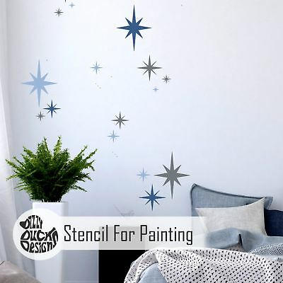 8-point Star - Set of 6