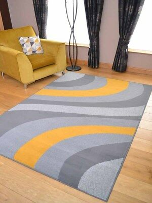 Grey Gold Silver Mustard Hall Runners Small Extra Large Long Carpets Rugs Cheap